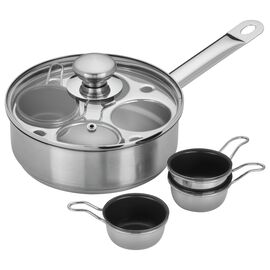 Demeyere RESTO, 1.5-qt Stainless Steel Egg Poacher Set