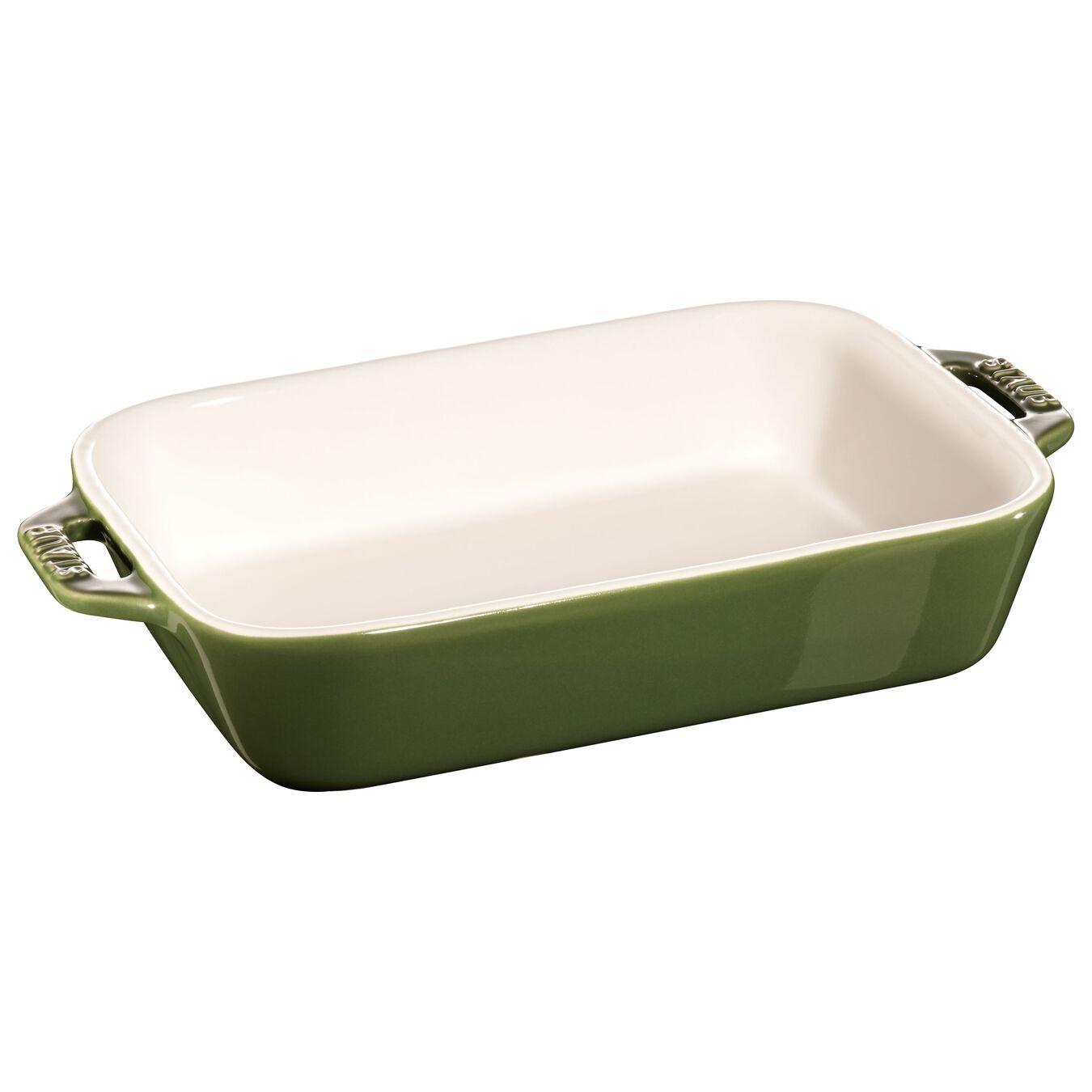 2 Piece rectangular Bakeware set, Basil-Green,,large 3