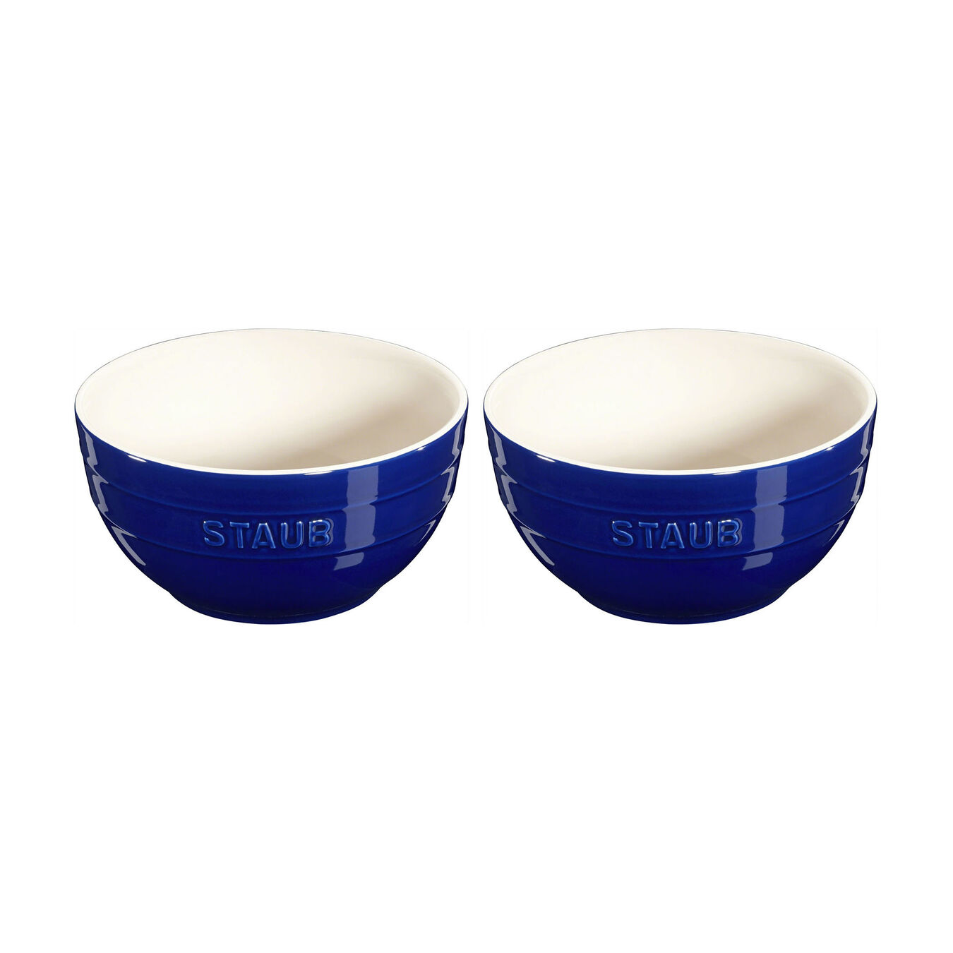 2-pc, Bowl set, dark blue,,large 1