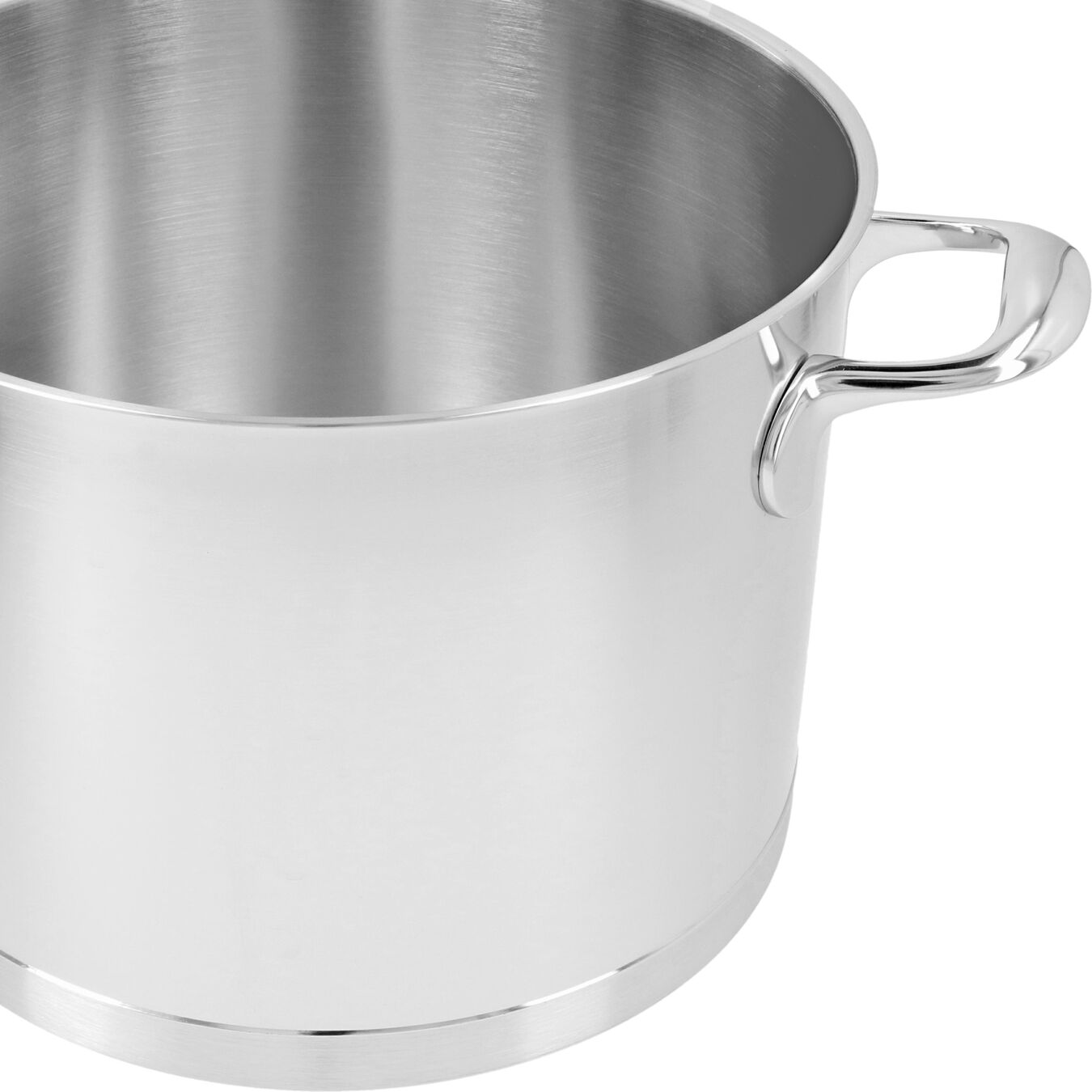 8.5 qt Stock pot with lid, 18/10 Stainless Steel ,,large 4