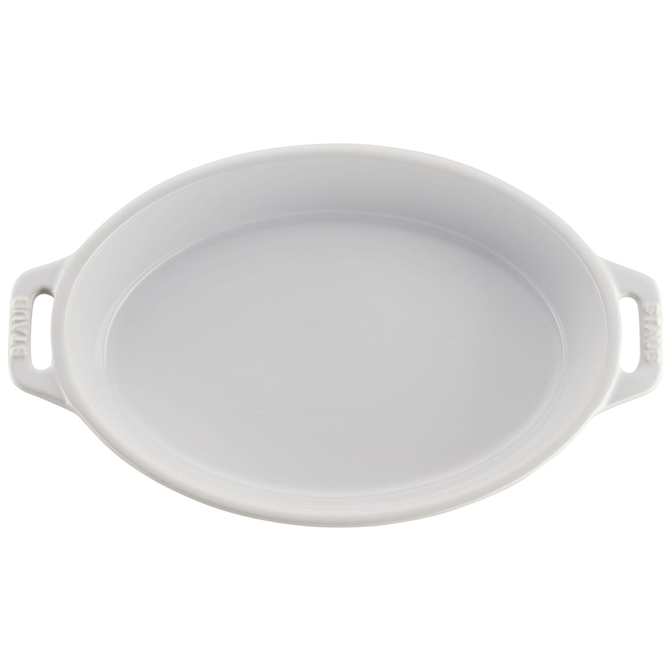 2-pc, oval, Bakeware set, white,,large 4