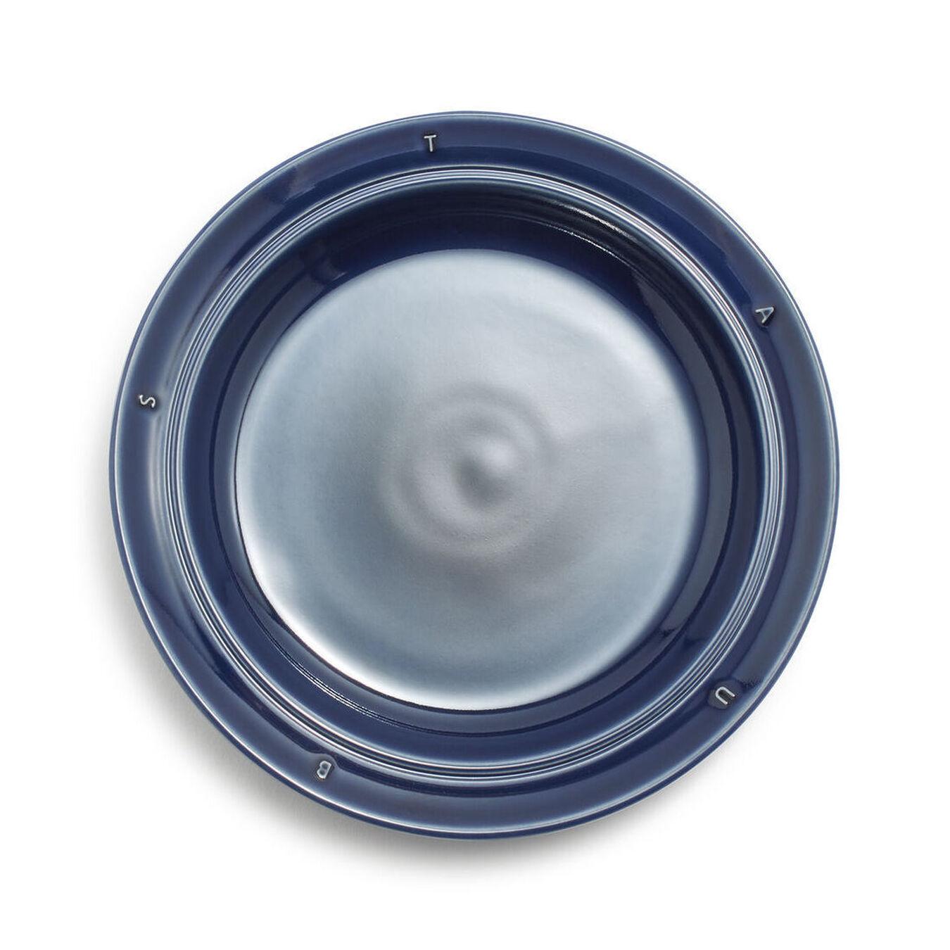 Serving set, 12 Piece   Dark-Blue   Ceramic   round   Ceramic,,large 3