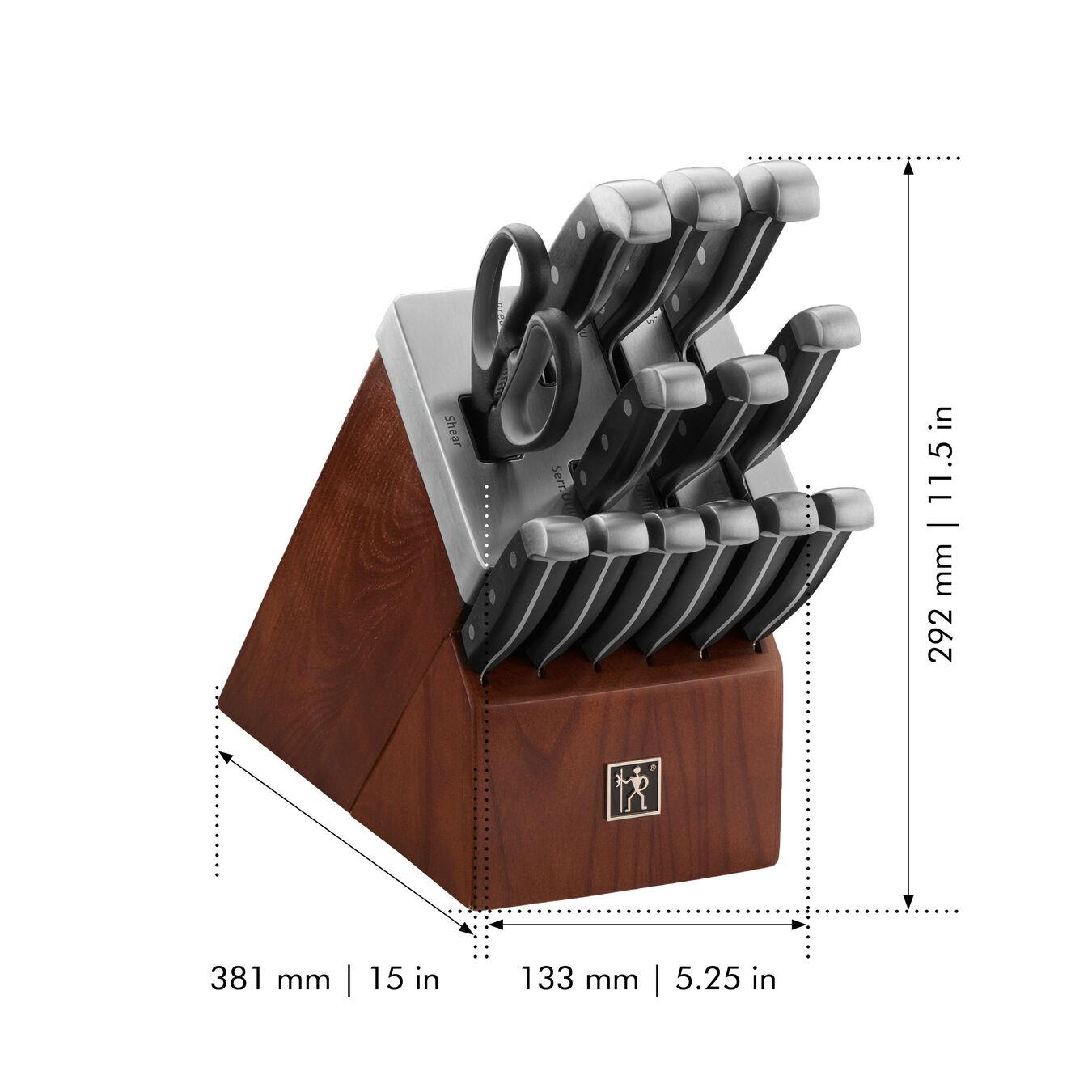 14-pc, Self-Sharpening Knife Block Set,,large 3