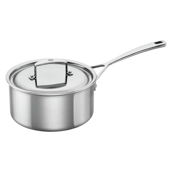3-qt 18/10 Stainless Steel Sauce pan,,large 2