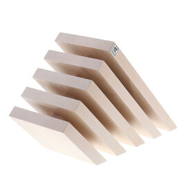 Slanted Magnetic Knife Block - White-Colored Beechwood