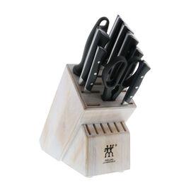 ZWILLING Diplôme, 10-pc, Knife block set, white