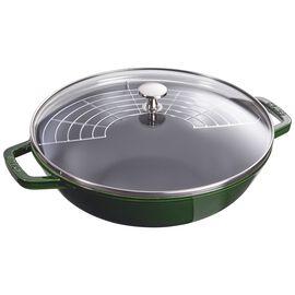 Staub Cast Iron, 4.5-qt Perfect Pan - Visual Imperfections - Basil