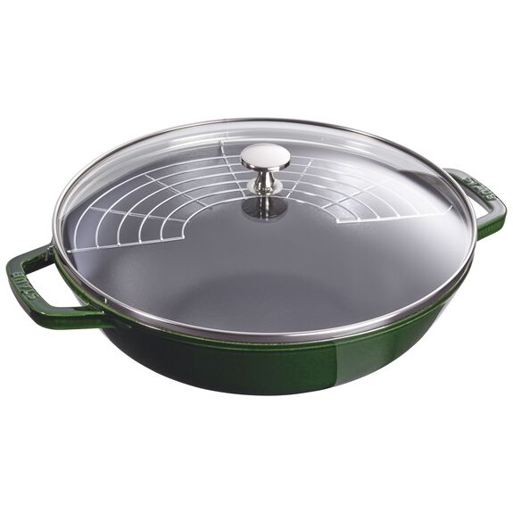 4.5-qt Perfect Pan - Visual Imperfections - Basil,,large