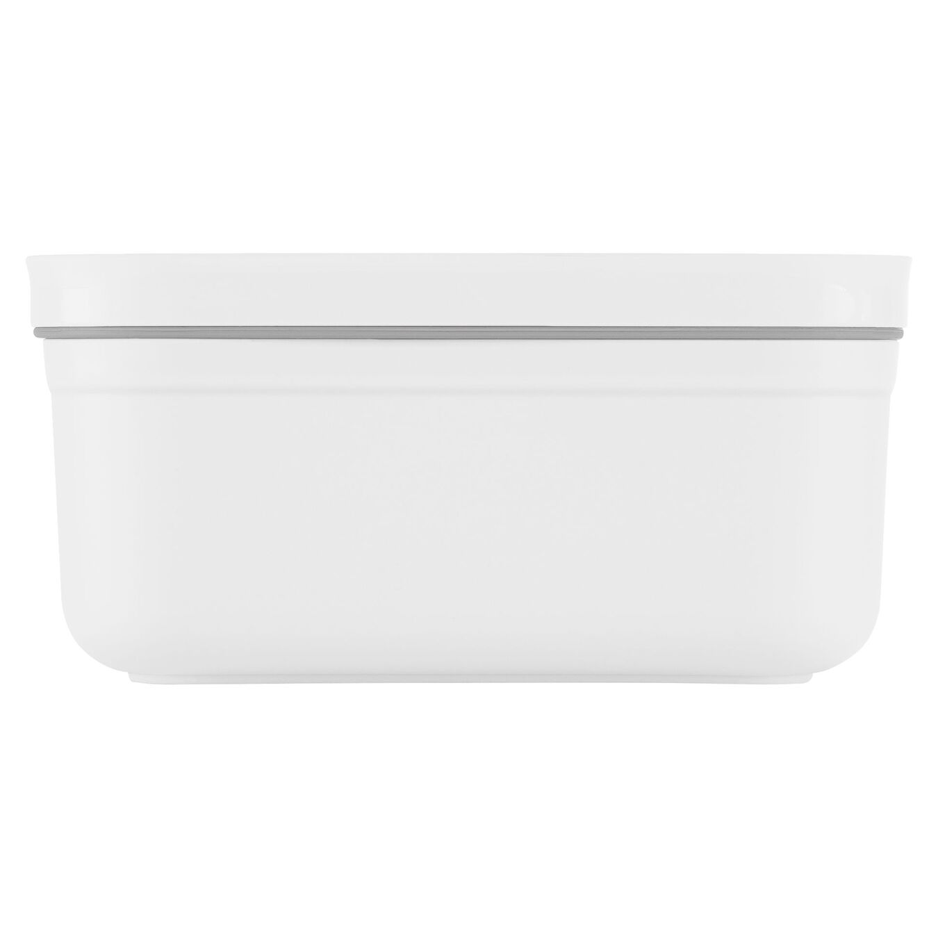 Vakuum Lunchbox, S, Kunststoff, Weiß,,large 2