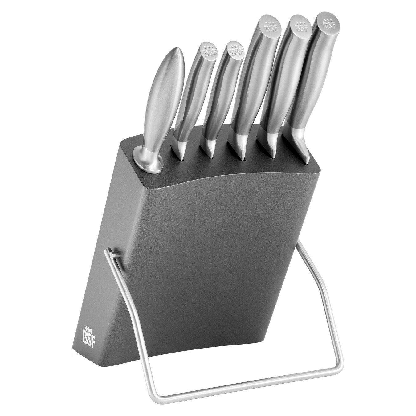 Bloc de couteaux 7-pcs, Bouleau,,large 1