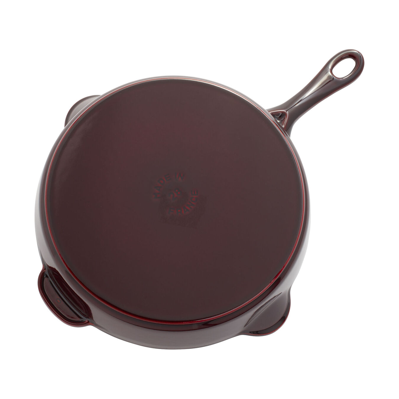 28 cm / 11 inch Frying pan, grenadine-red - Visual Imperfections,,large 4