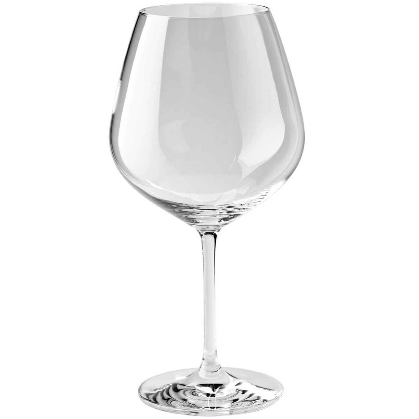 6 Piece Burgundy Large Glass set,,large 1