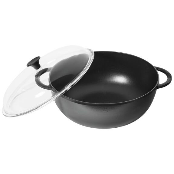 11-cm-/-4.25-inch oval Mini Cocotte, Black,,large 5