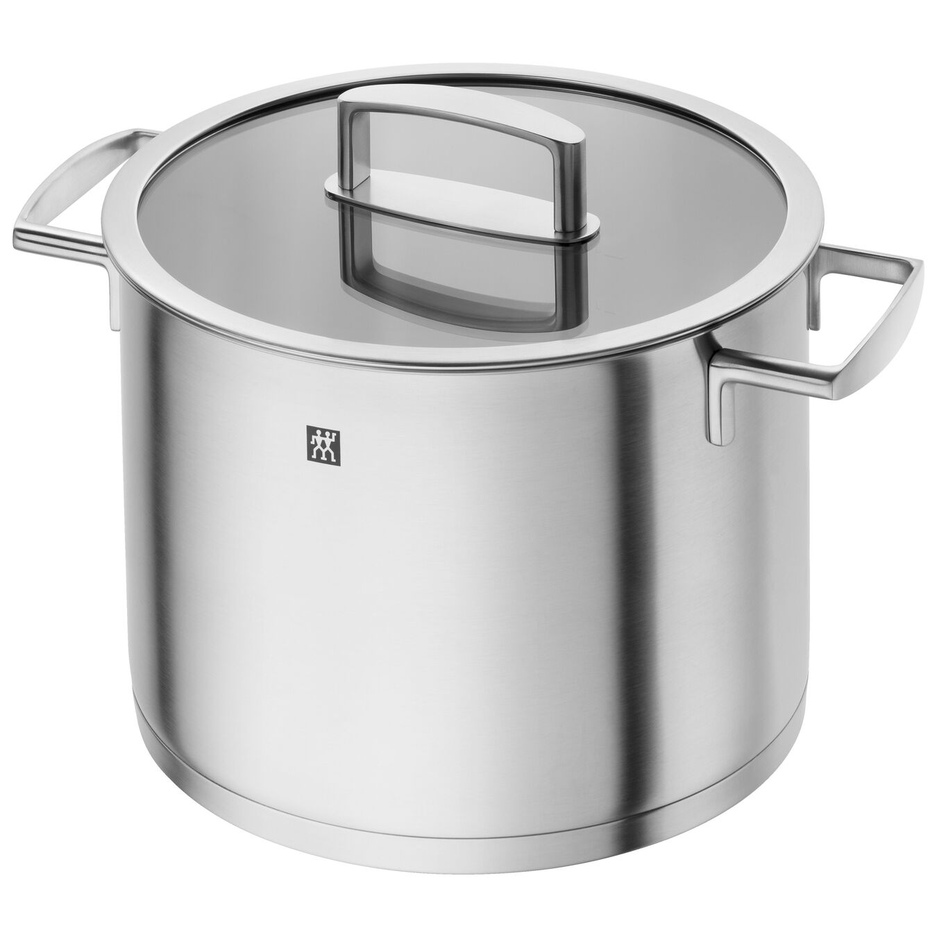8 l 18/10 Stainless Steel stock pot with glass lid,,large 1