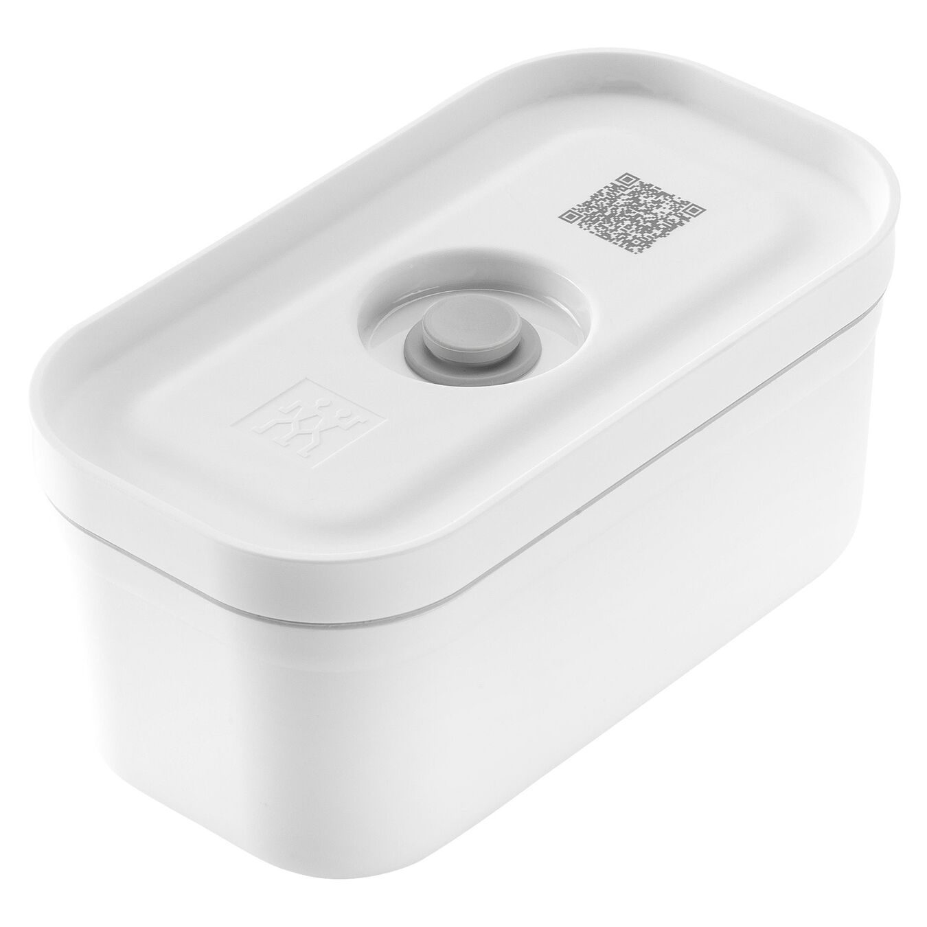 Vacuum lunch box, small, white,,large 1