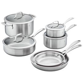 ZWILLING Spirit Stainless, 10-pc Cookware Set