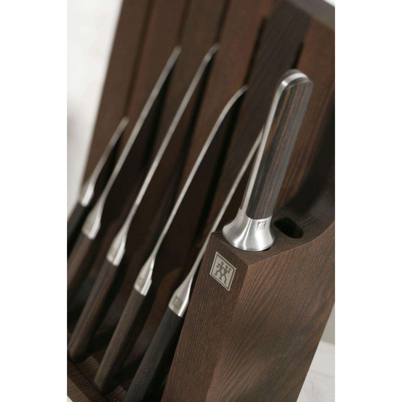 Bloc à couteaux, 7-pces, ebony,,large 11