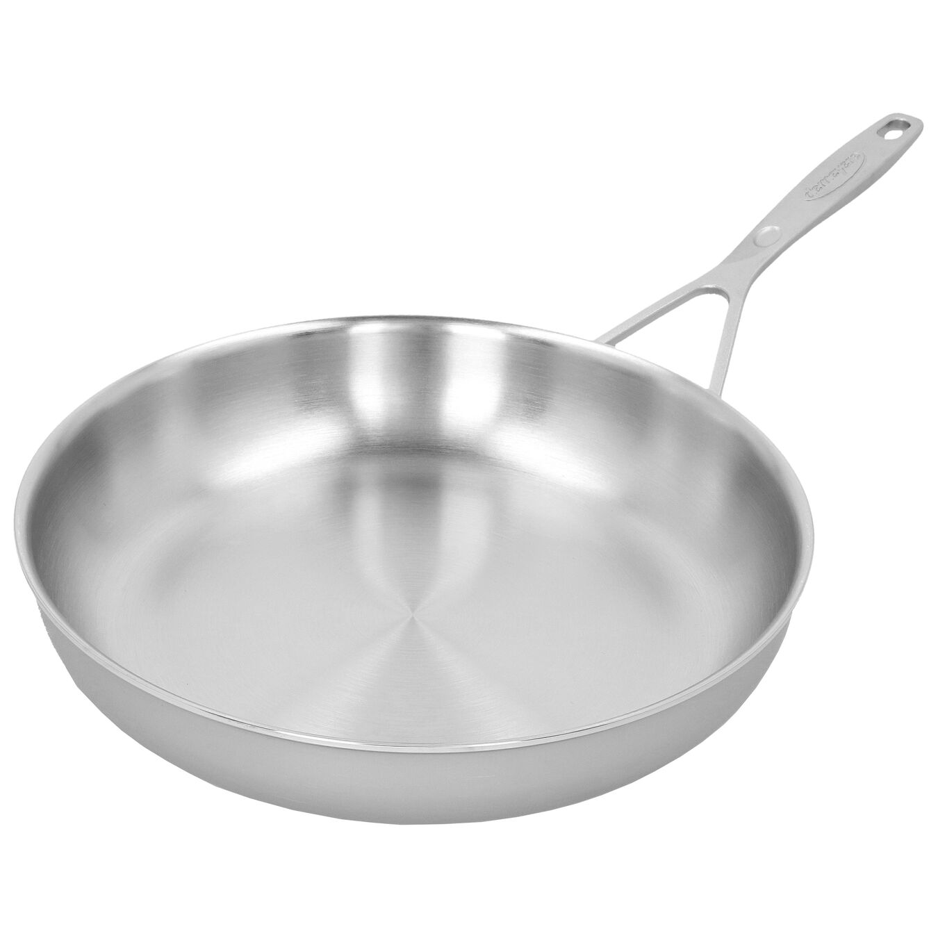 11-inch, 18/10 Stainless Steel, Frying pan,,large 3