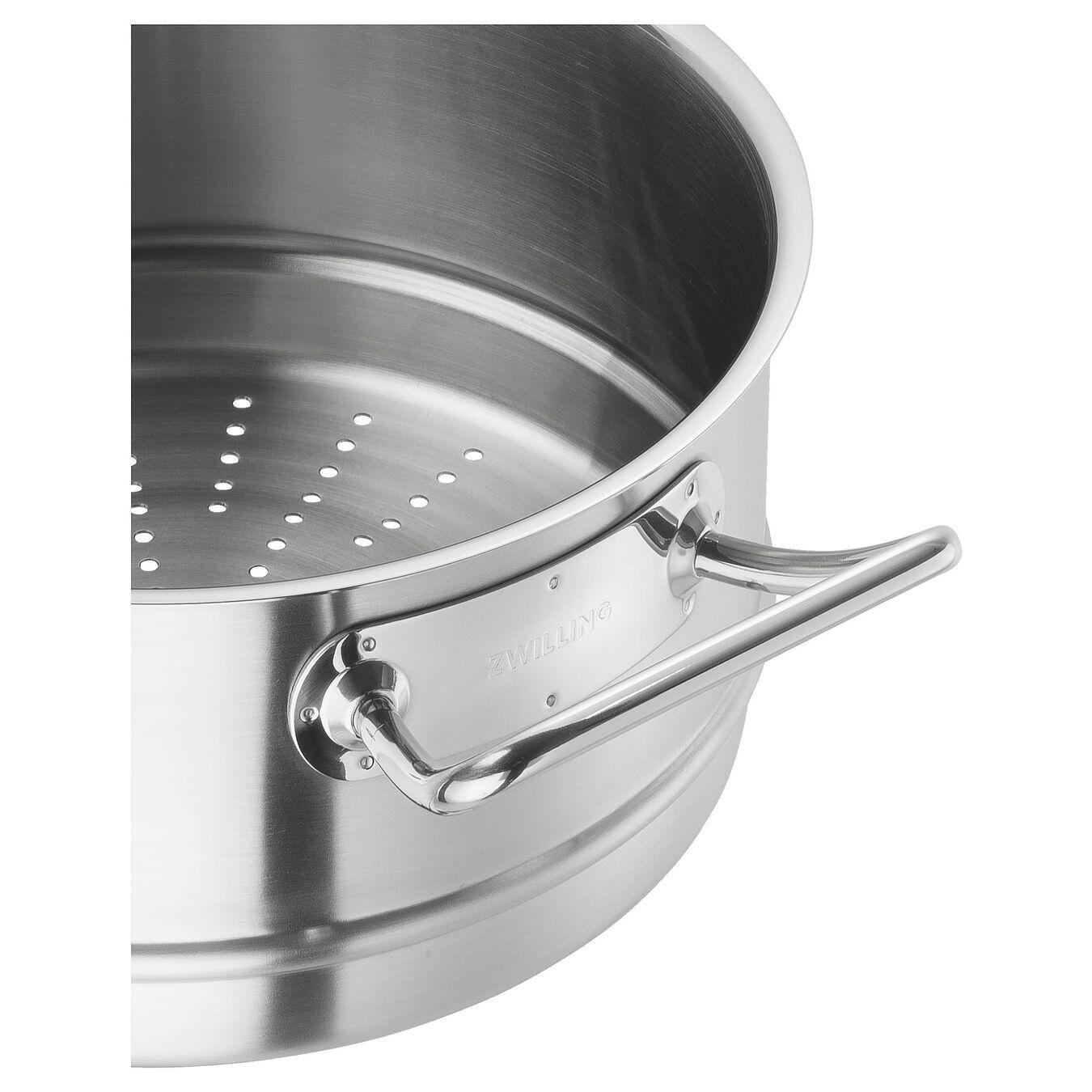 Ånginsats 24 cm, 18/10 Rostfritt stål,,large 2