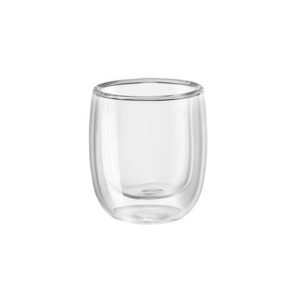 2-pc  Espresso glass set,,large 2