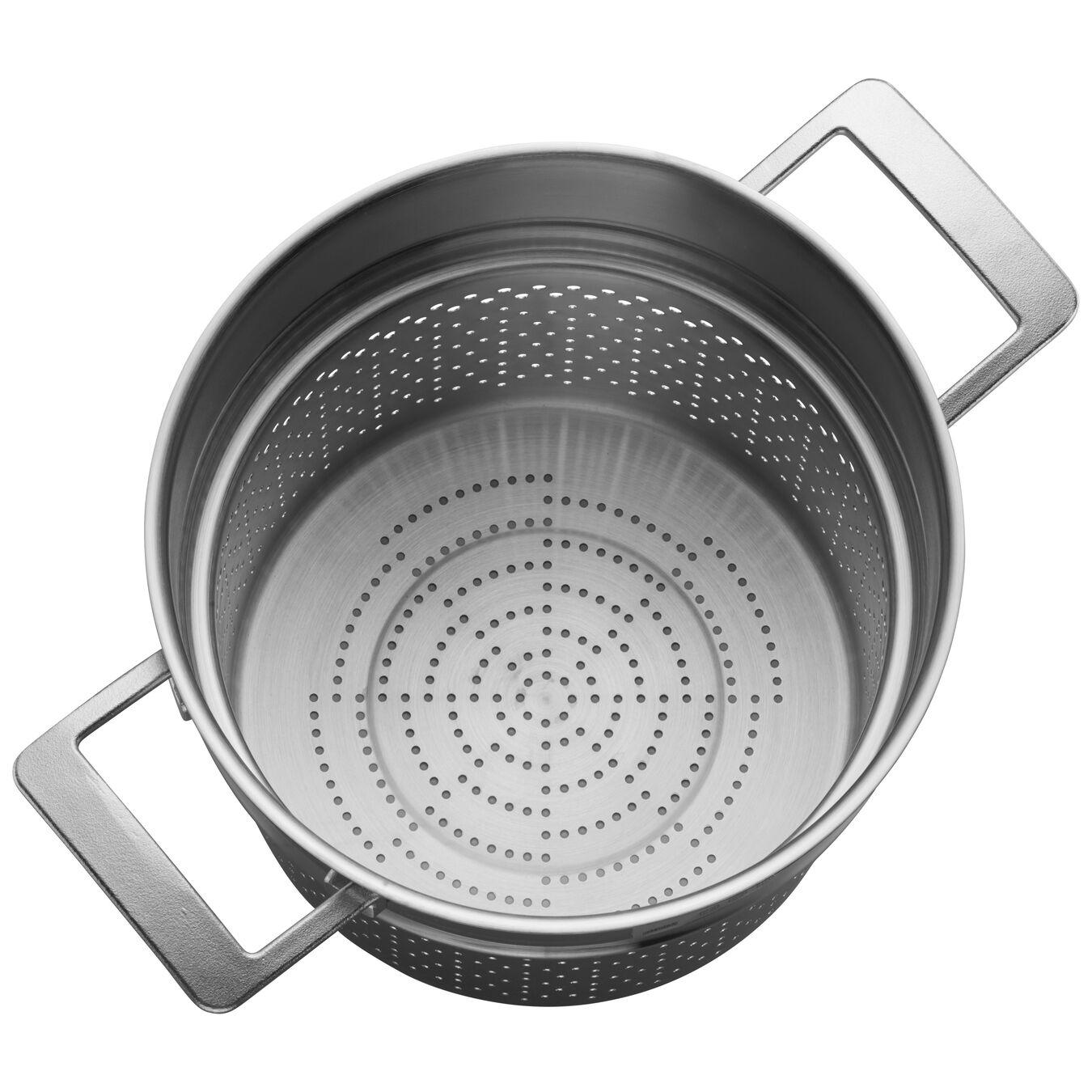 8-qt Stainless Steel Pasta Insert (Fits 8-qt Stock Pot),,large 2