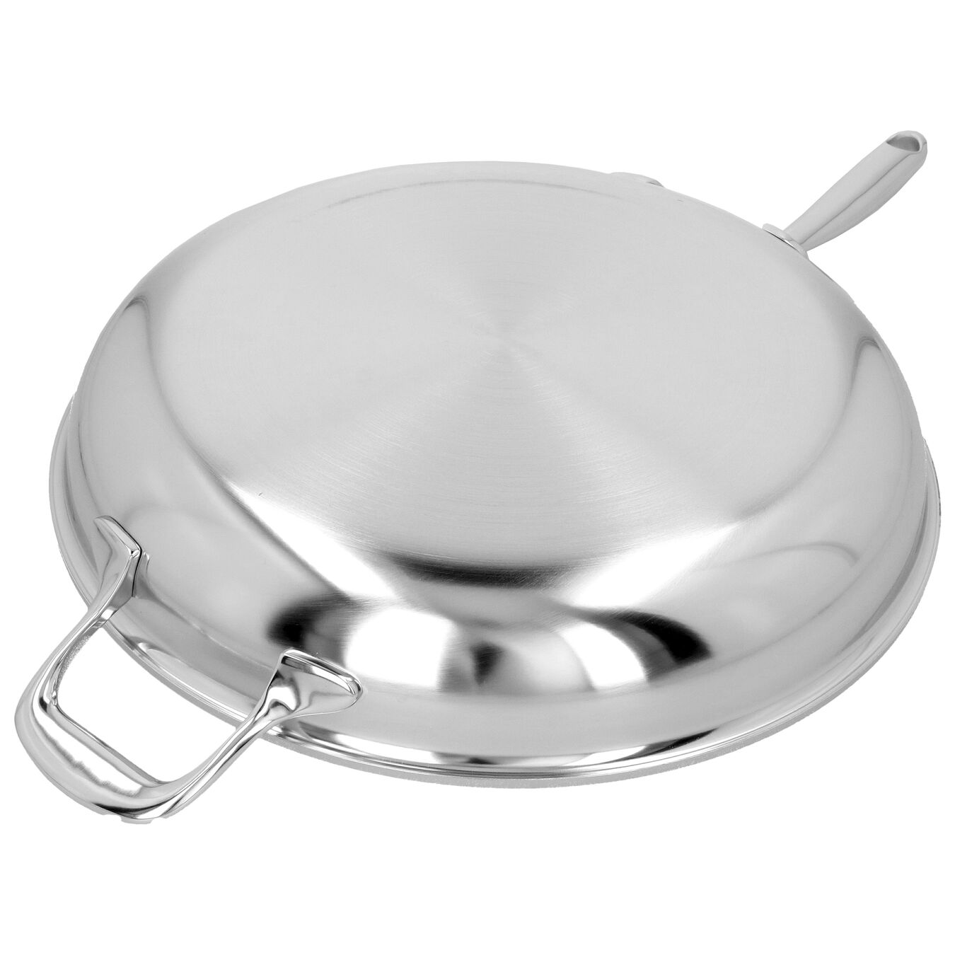 12.5-inch, 18/10 Stainless Steel, Frying pan,,large 5
