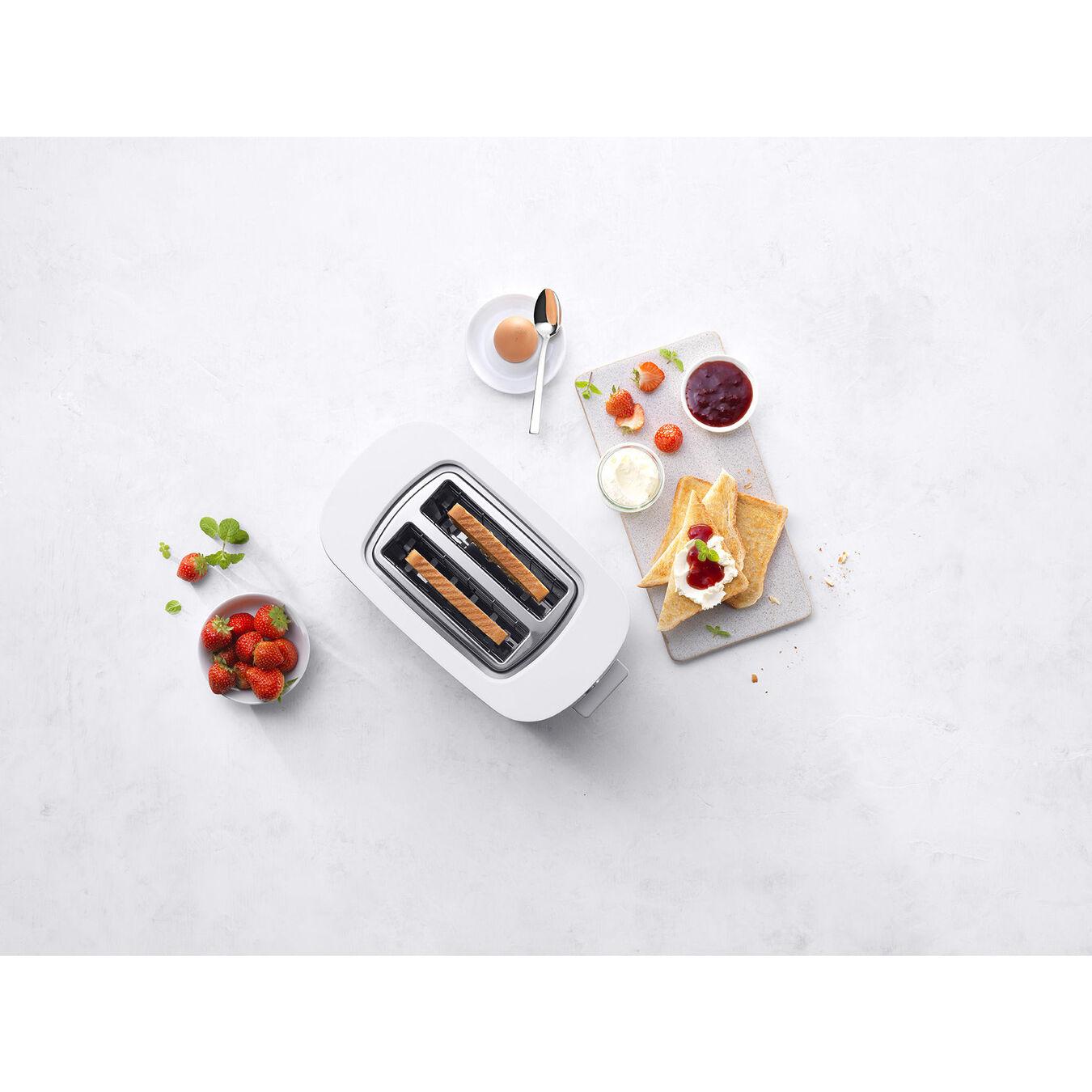 Ekmek Kızartma Makinesi çörek ısıtıcılı | 2 yuva 2 dilim,,large 4