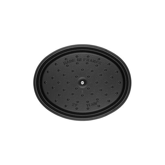 Döküm Tencere, 23 cm   Siyah   Oval   Döküm Demir,,large 2
