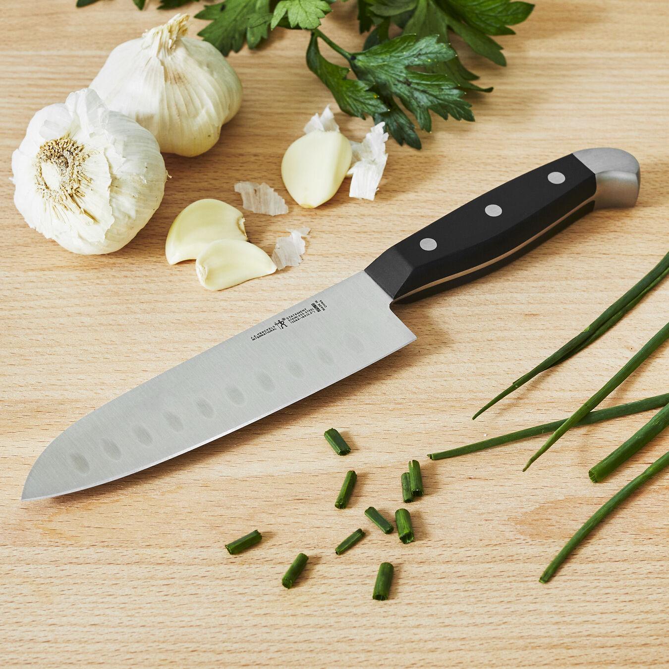 7-inch, Hollow Edge Santoku Knife,,large 2