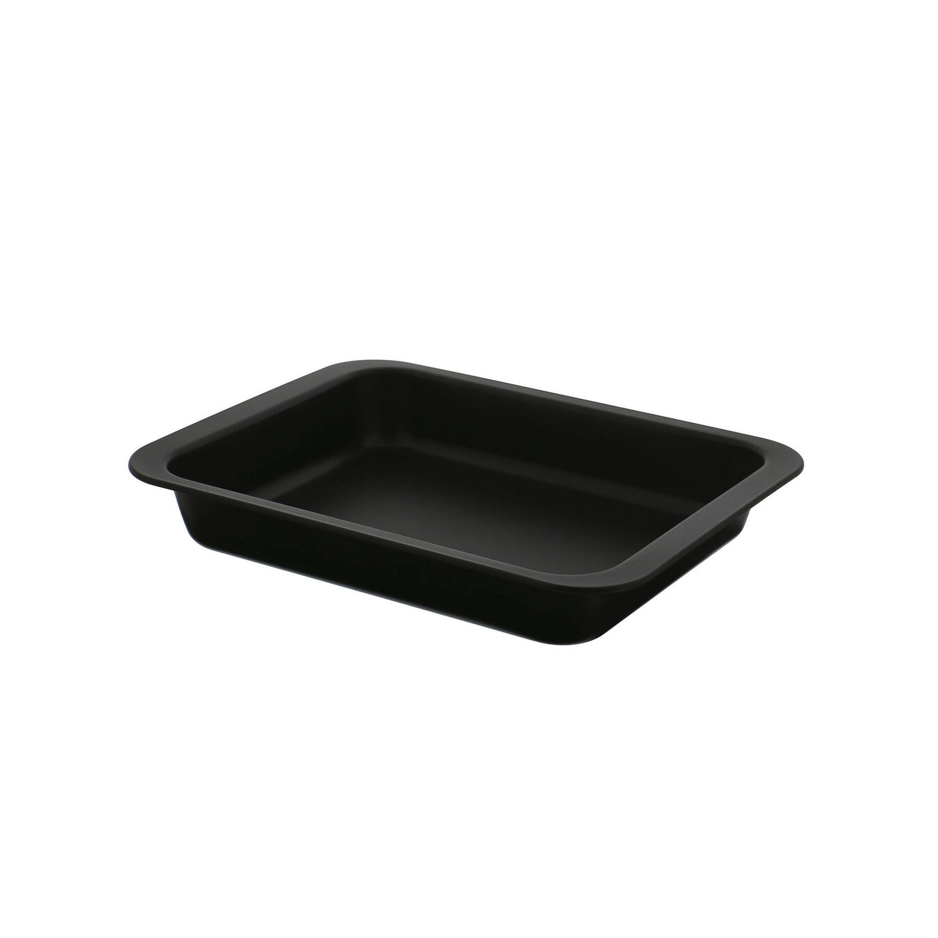 Steel square Oven dish, Black,,large 1