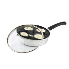 Henckels Kitchen Elements,  aluminium Non-Stick Egg Poacher