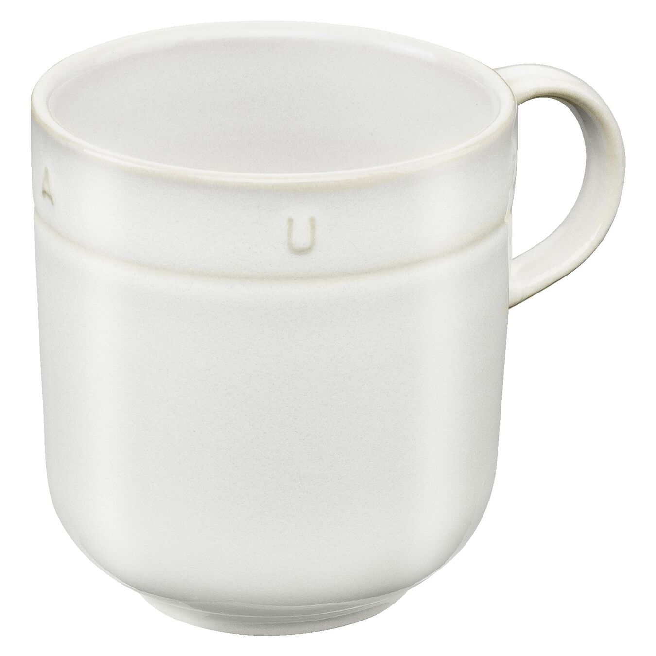 0.5 qt, Ceramic, Mug, off-white,,large 2