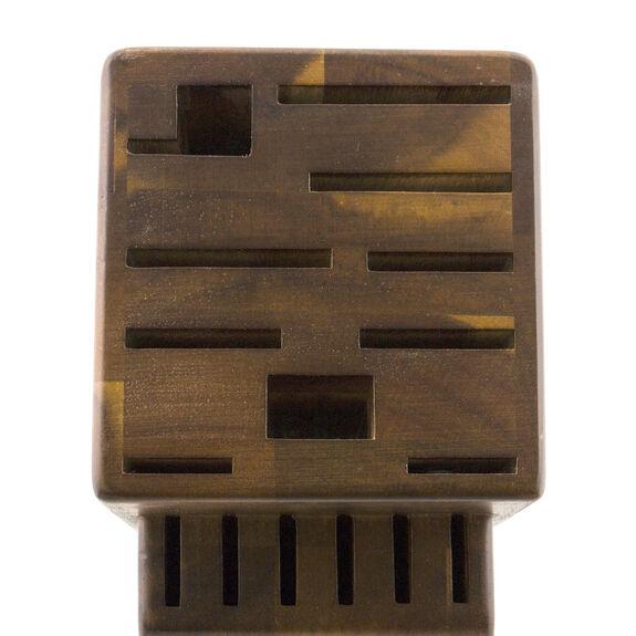 Knife block empty Wood,,large 3