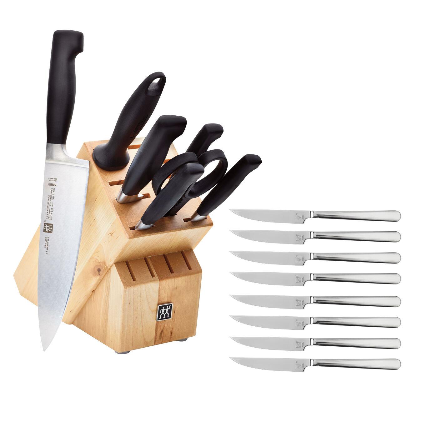8 Piece Knife block set,,large 1