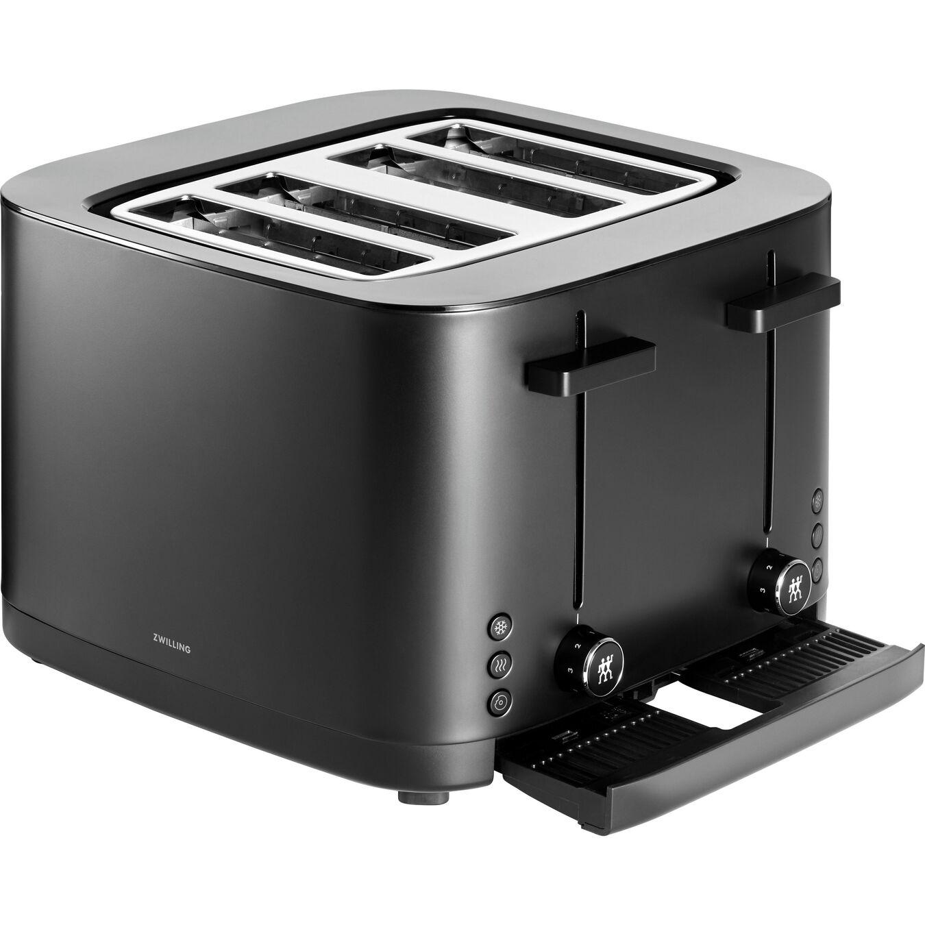 4 Slot Toaster - Black,,large 3