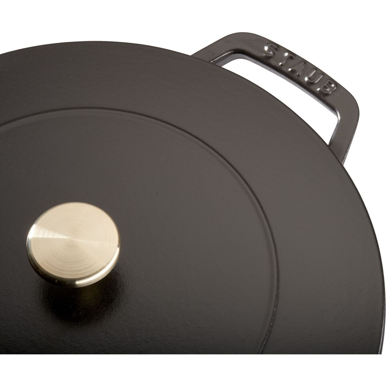 3.75 qt, Essential French Oven, black matte,,large 5