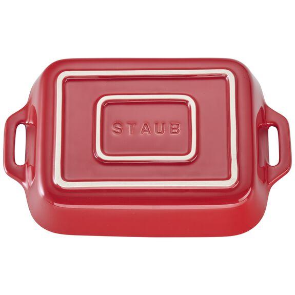 7.5-inch x 6-inch Rectangular Baking Dish - Cherry,,large