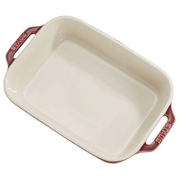 2-pc Rectangular Baking Dish Set - Rustic Red,,large