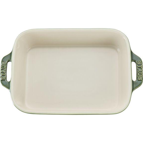 """7.5x6"""" Rectangular Baking Dish, Basil, , large 3"""