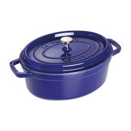 Staub La Cocotte, 4.25 l Cast iron oval Cocotte, dark-blue