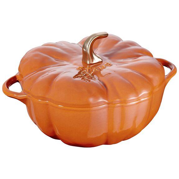 5-qt Pumpkin Cocotte, Burnt Orange,,large
