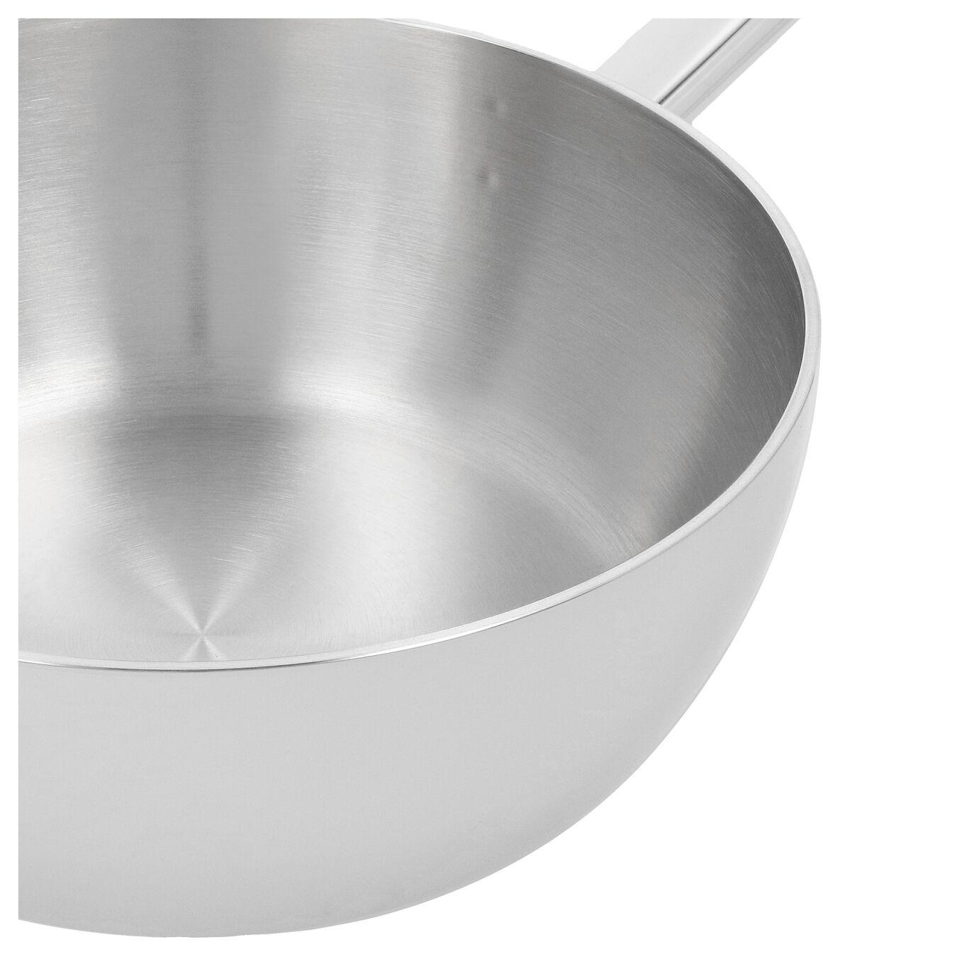 Sauteuse konisk 24 cm, 18/10 Rostfritt stål,,large 2