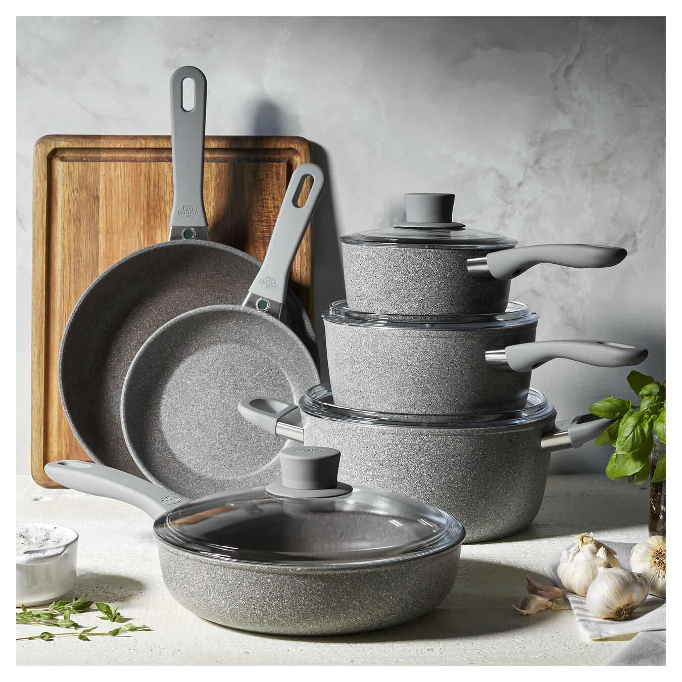 10-pc, Aluminum Nonstick Cookware Set,,large 9