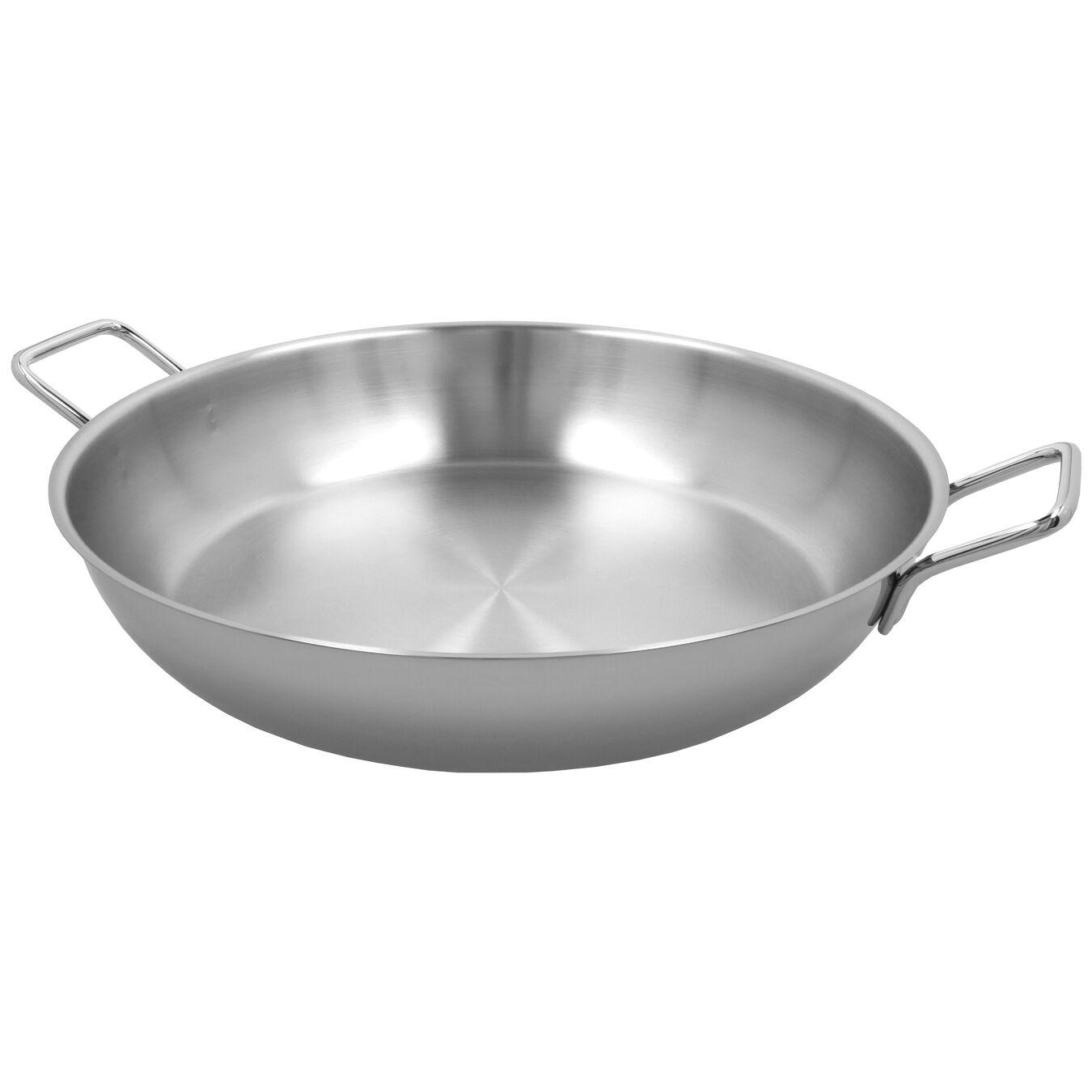Paella Tavası Kapaksız | 18/10 Paslanmaz Çelik | 46 cm,,large 3