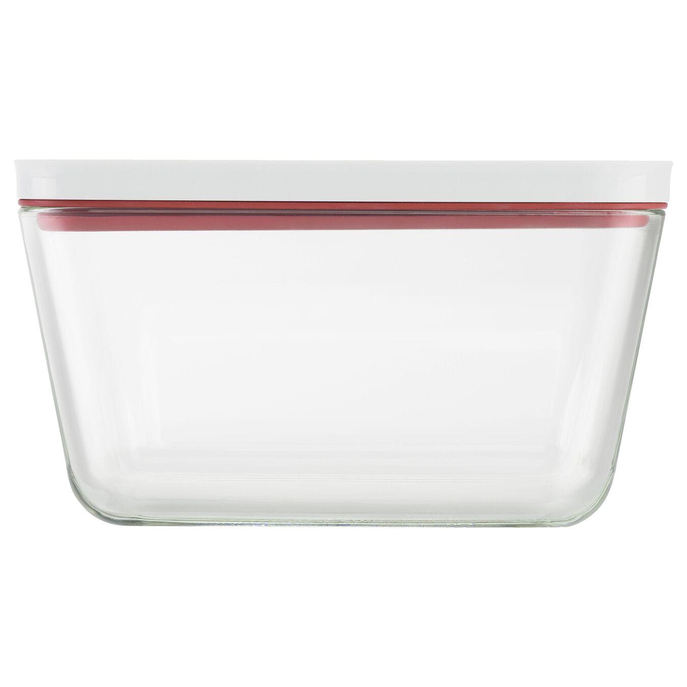 Vakuumbox, L, Glas, Rot,,large 3