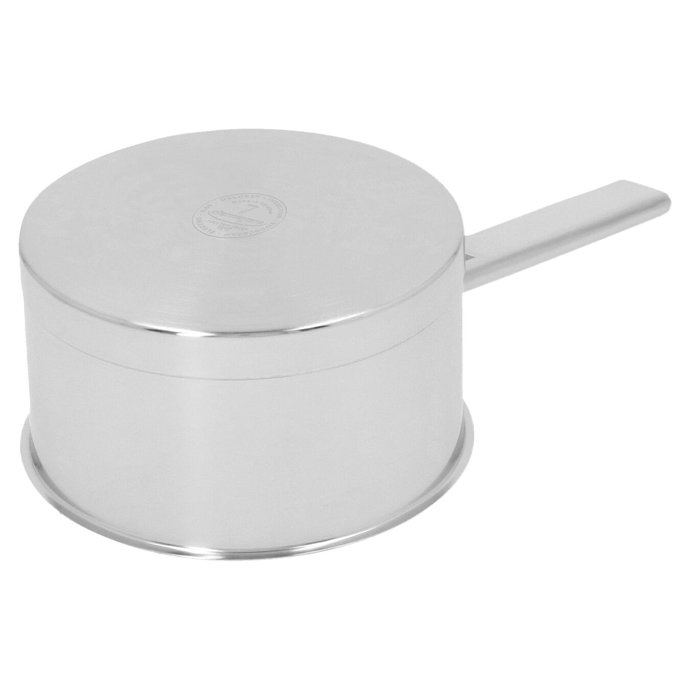 1.1 qt Sauce pan with double walled lid, 18/10 Stainless Steel ,,large 3