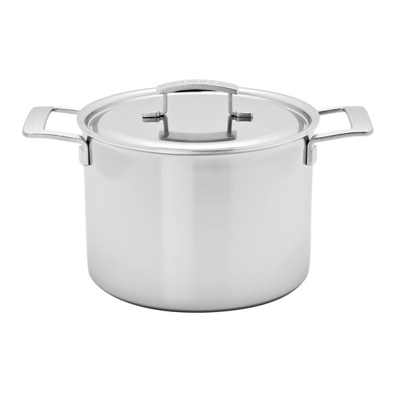 8-qt Stainless Steel Stock Pot,,large