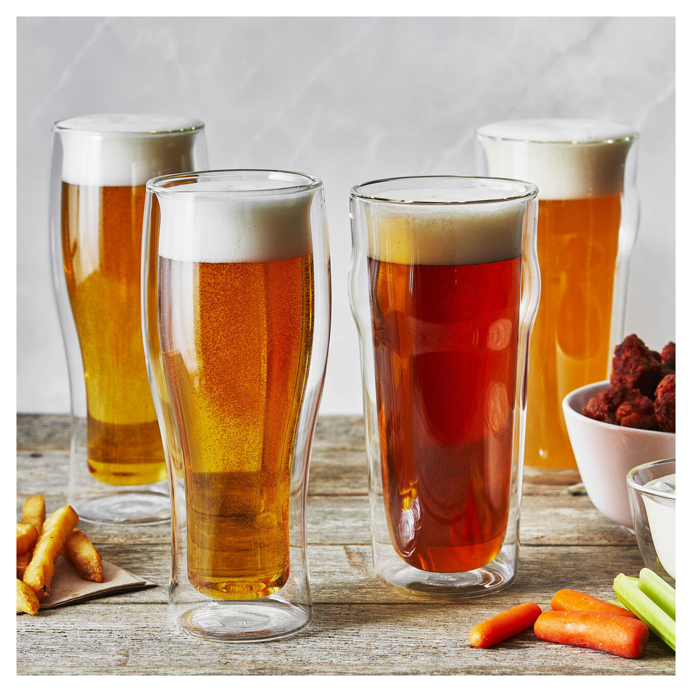 4-pc, Beer glass set,,large 9
