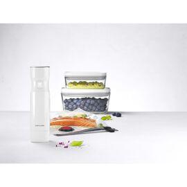 ZWILLING Fresh & Save, Vakuum Starterset, Borosilikatglas / S/M, 7-tlg, Weiß