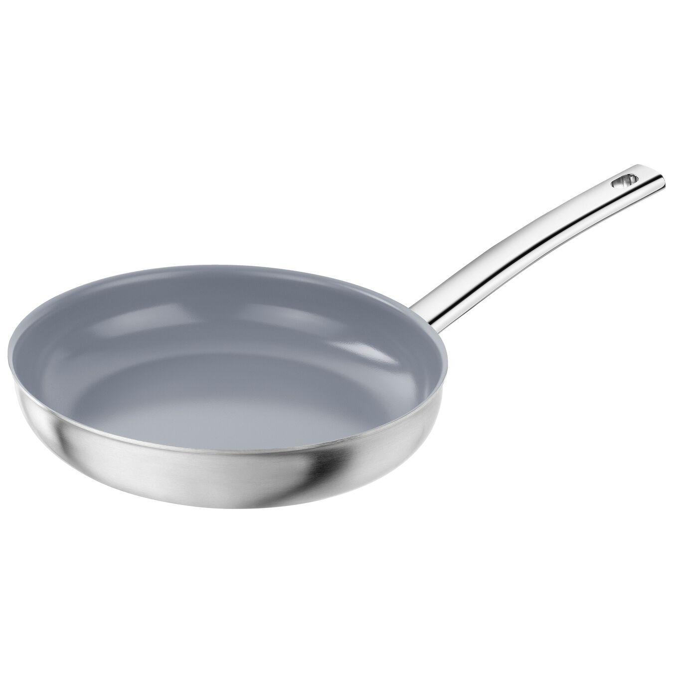 Stekpanna 24 cm, 18/10 Rostfritt stål, Silver,,large 1